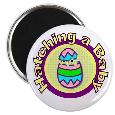 "Hatching a Baby 2.25"" Magnet (100 pack)"