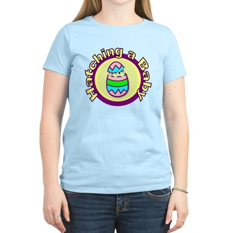 Hatching a Baby Women's Light T-Shirt