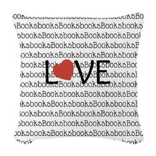 Book Love Woven Throw Pillow