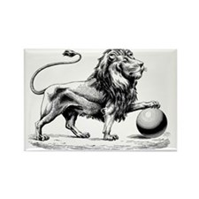 Lion of Judah Rectangle Magnet