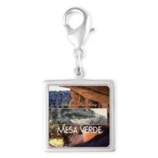 ABH Mesa Verde Silver Square Charm