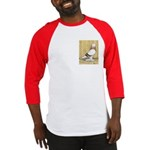 Red Bar Grizzle West Baseball Jersey