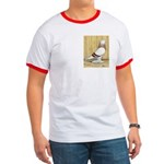 Red Bar Grizzle West Ringer T