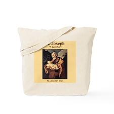 St. Joseph's Day Tote Bag