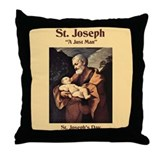 St. Joseph's Day Throw Pillow