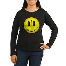 Bleeding Smiley Face T-Shirt