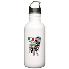 Neapolitan mastiff by madeline wilson Water Bottle