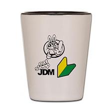 Eat Sleep JDM Bunny Shot Glass