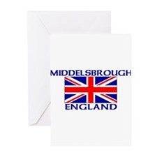 Unique United football Greeting Cards (Pk of 10)