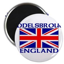 "Cute Great britain flag 2.25"" Magnet (10 pack)"