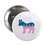 ::: Democratic Donkey Pink/Blue ::: 2.25