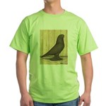 Brown Self West Green T-Shirt