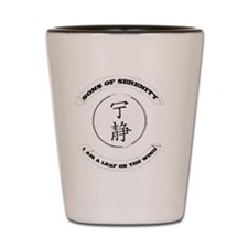 sons of serenity trans Shot Glass