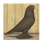 Brown Self West Tile Coaster