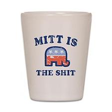Mitt is the Shit Shot Glass