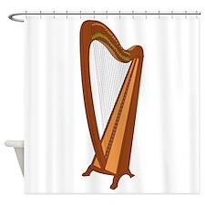 Harp Shower Curtain