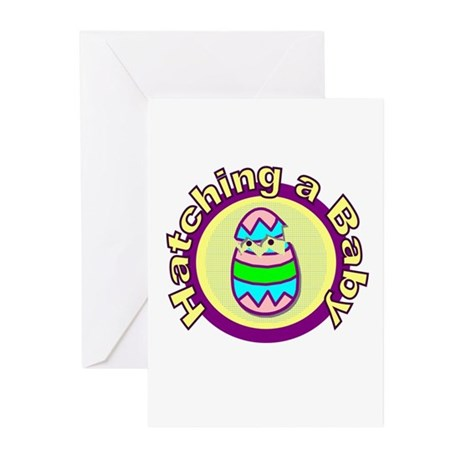 Hatching Baby Birth Annoucement Cards (10)