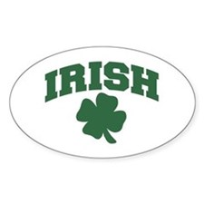 Irish Oval Decal