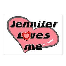 jennifer loves me  Postcards (Package of 8)