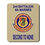 2nd Battalion 4th Marines<BR>Mousepad