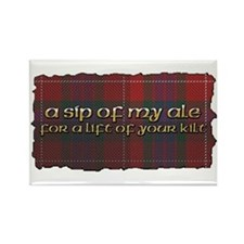 Sip of my Ale Rectangle Magnet
