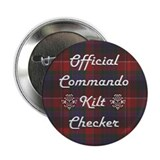 Commando Kilt Checker Button