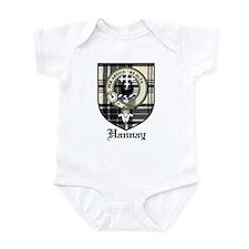 Hannay Clan Crest Tartan Infant Bodysuit