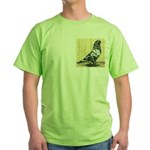 Black Mottle West Green T-Shirt