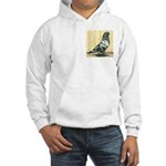 Black Mottle West Hooded Sweatshirt