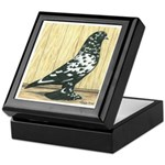 Black Mottle West Keepsake Box
