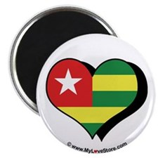"I Love Togo 2.25"" Magnet (100 pack)"