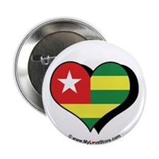 "I Love Togo 2.25"" Button (100 pack)"