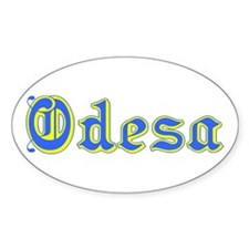 Odesa Oval Decal