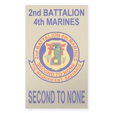 2nd Battalion 4th Marines<BR>Decal