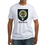 Johnstone Clan Crest Tartan Fitted T-Shirt