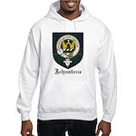 Johnstone Clan Crest Tartan Hooded Sweatshirt
