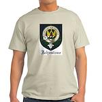 Johnstone Clan Crest Tartan Light T-Shirt