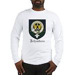 Johnstone Clan Crest Tartan Long Sleeve T-Shirt