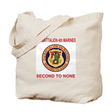 2nd Battalion 4th Marines<BR>Tote Bag