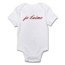 Je t'aime Infant Bodysuit