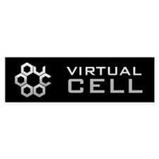 Virtual Cell Bumper Bumper Sticker