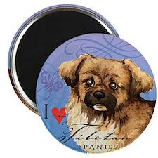 """Tibetan Spaniel 2.25"""" Magnet (10 pack)"""