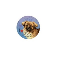 Tibetan Spaniel Mini Button