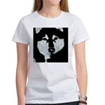 Malamute Black & White Women's T-Shirt