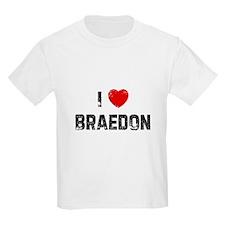 I * Braedon Kids T-Shirt