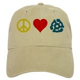Peace, Love & Vinyl Baseball Cap