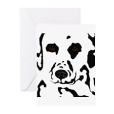 Dalmatian Design Greeting Cards (Pk of 10)