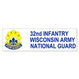 32nd Infantry Brigade <BR>Bumper Bumper Sticker