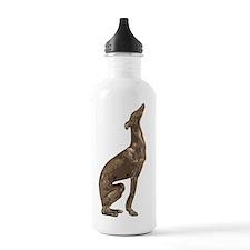 Greyhound Silhouette C Water Bottle