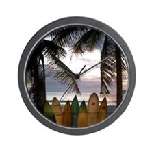 Surf Costa Rica Wall Clock